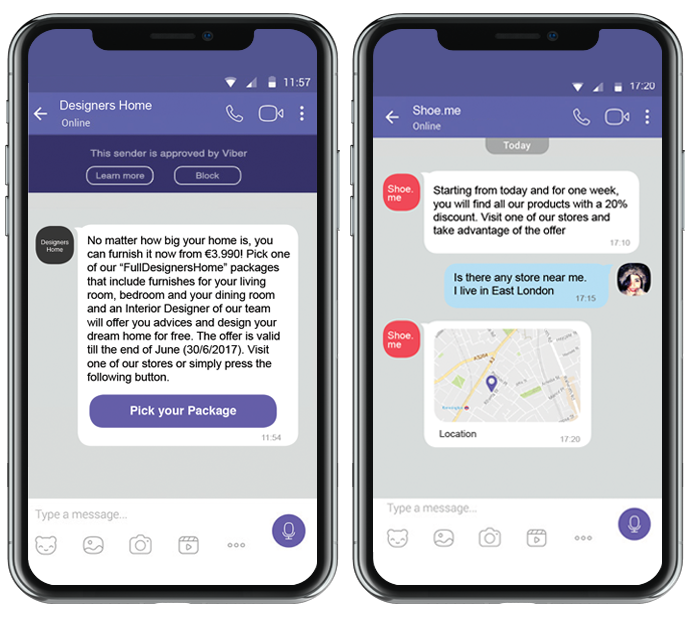 Two-way messaging with Routee