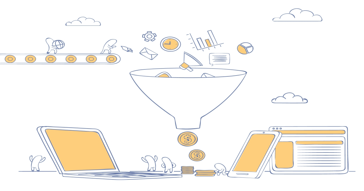 digital marketing funnels by routee