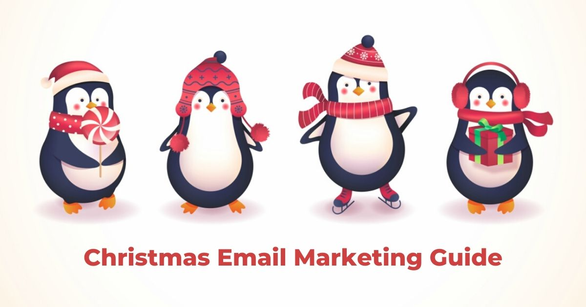 Christmas email marketing guide by routee