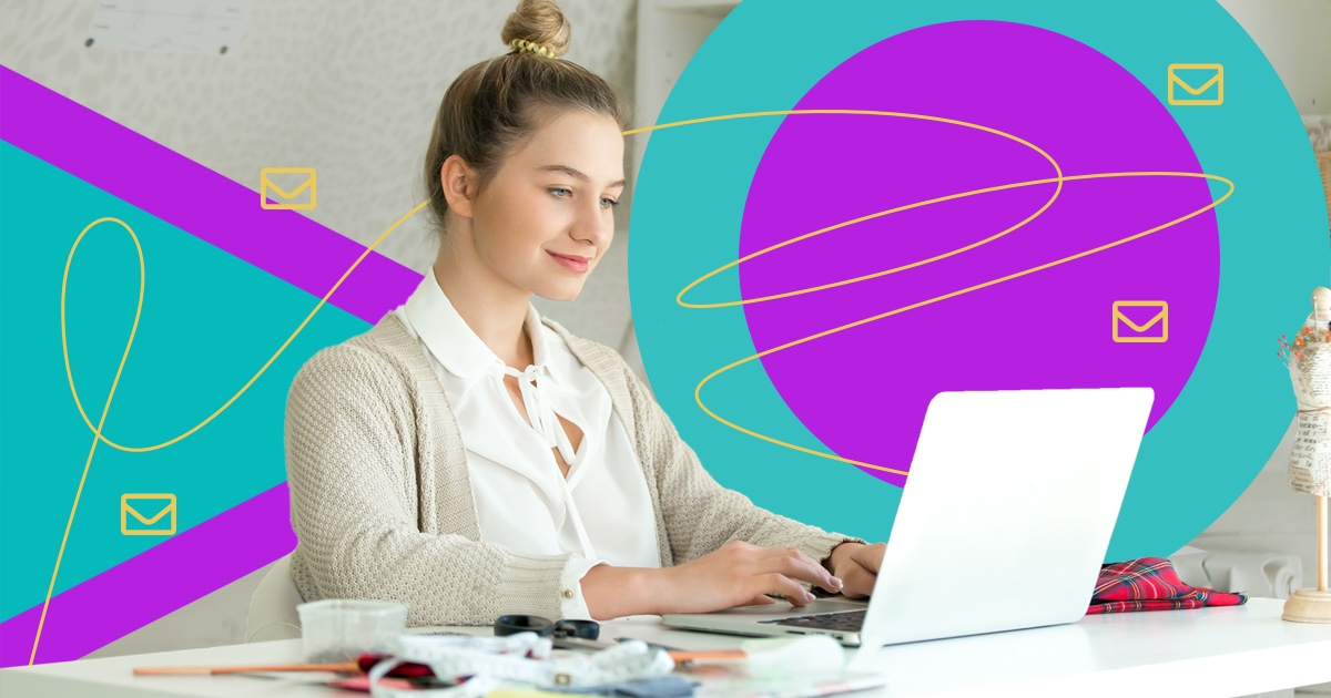 Email-marketing-business-woman-laptop